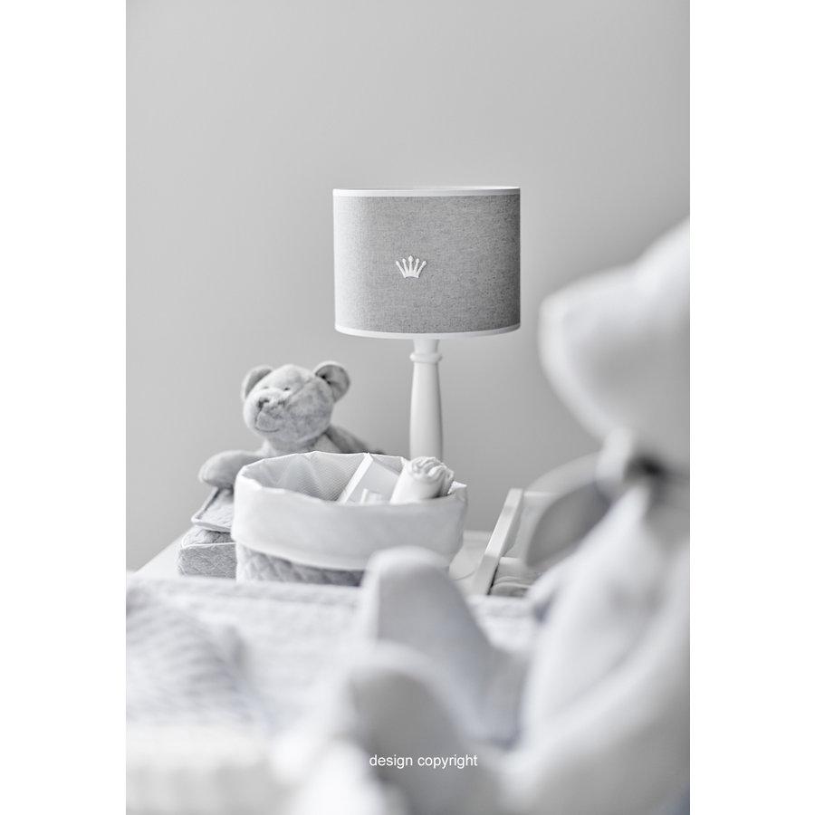 tafellamp met houten voet - Endless Grey-1
