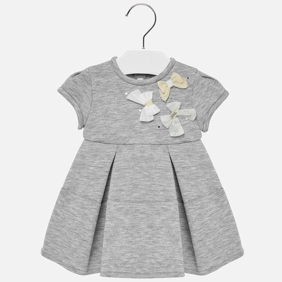 sweater jurk met strikjes-1