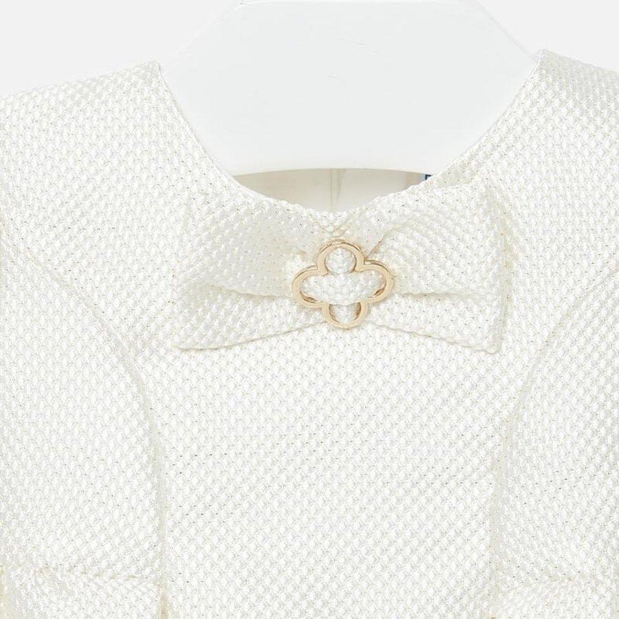 jacquard jurk met strik-3