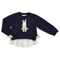 trui met blouse en konijn