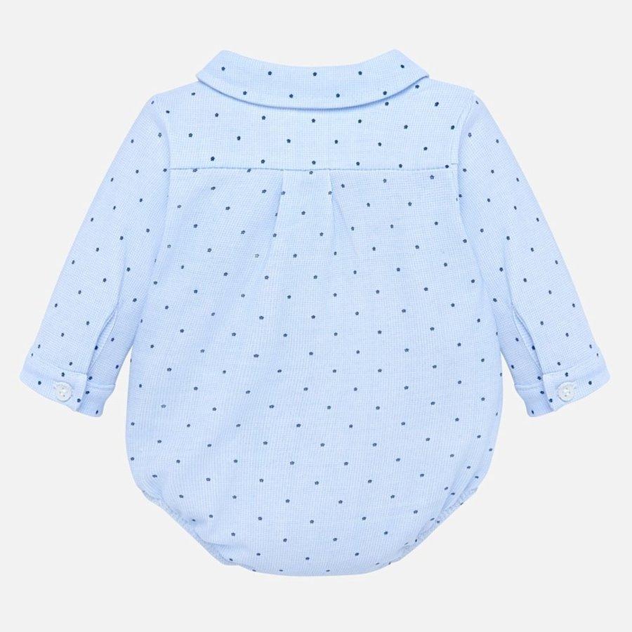 romper overhemd met stip-2