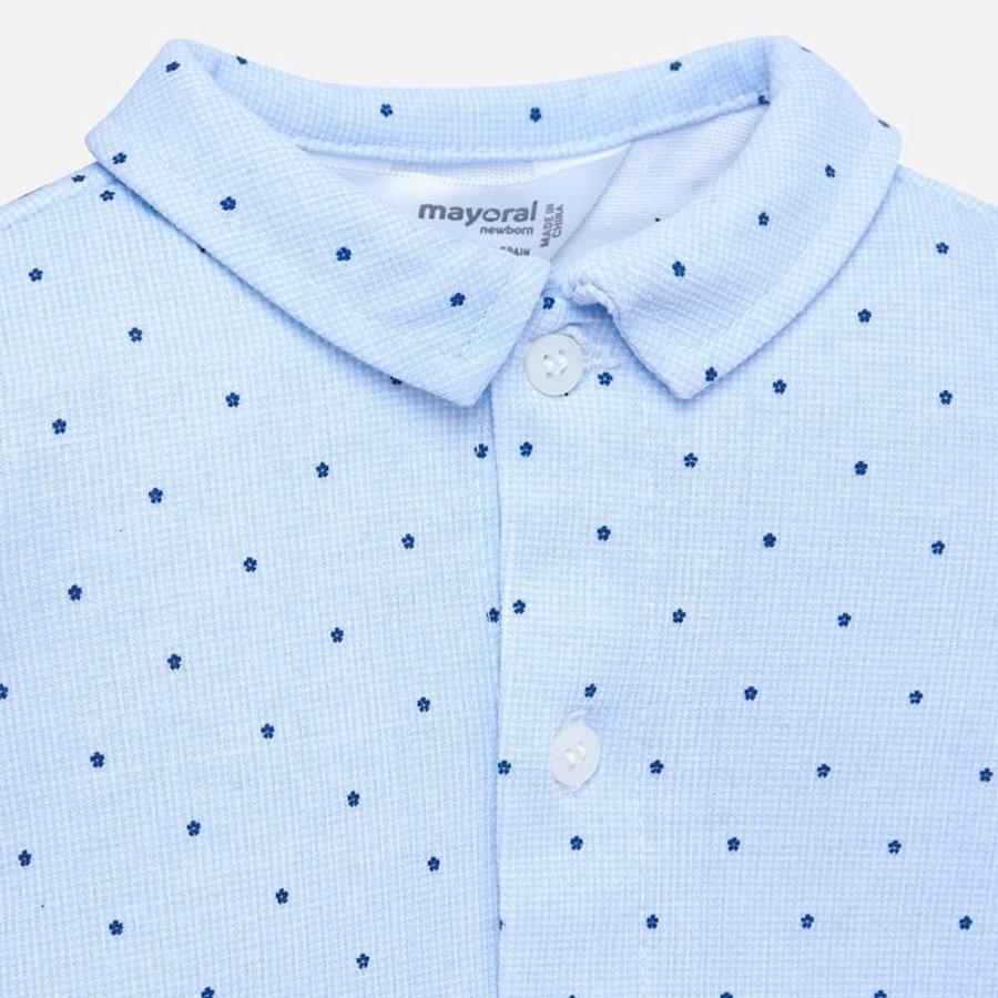 romper overhemd met stip-3