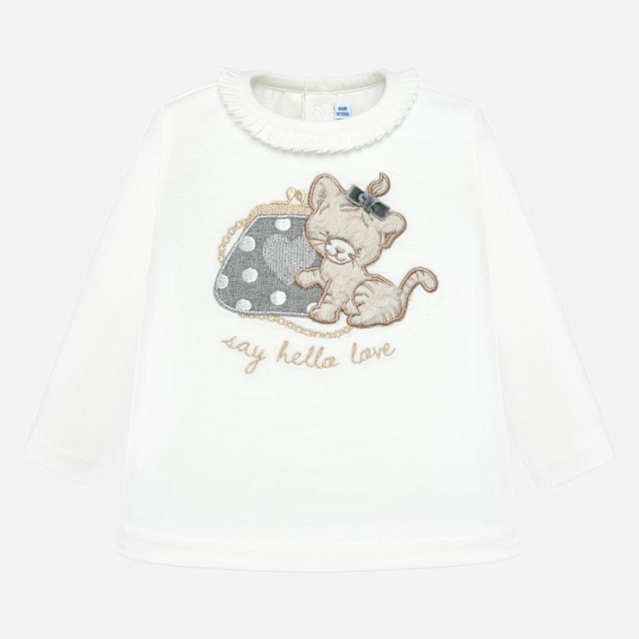 t-shirt met poesje-1