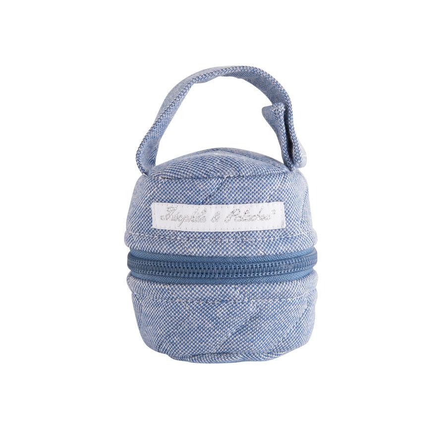 Blue Jeans Hoes fopspeen - Gewatteerd-1