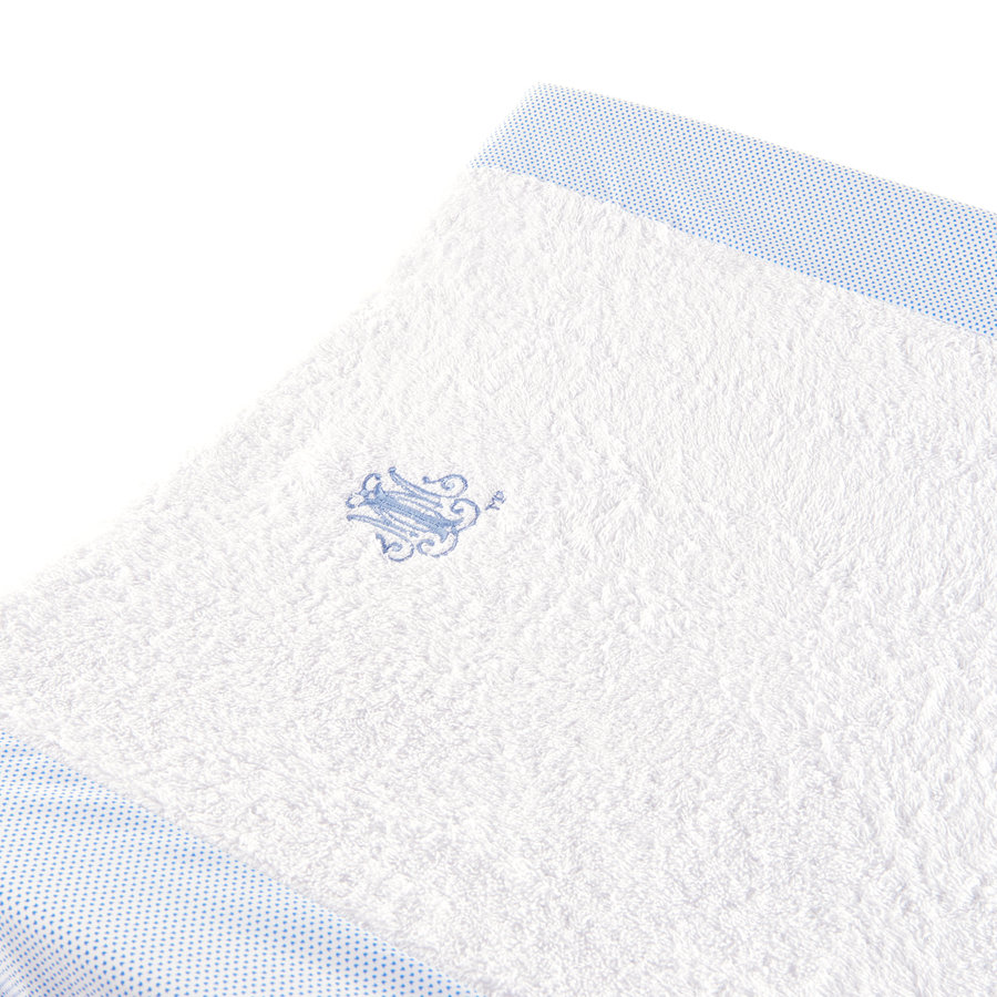 Blue Jeans Hoes verzorgingskussen - Badstof + katoen-2