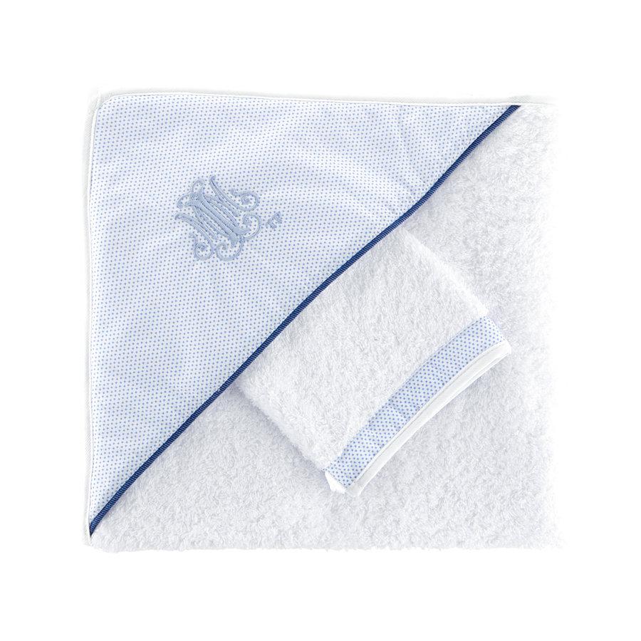 Blue Jeans Kaphanddoek + washandje-1