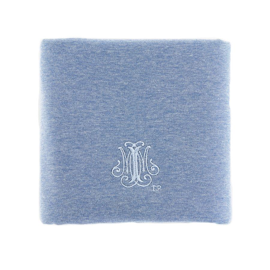 Blue Jeans Doopdeken 100x135cm - Jersey-1