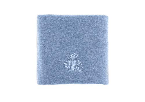 Théophile & Patachou Blue Jeans Doopdeken 65x80cm - Jersey