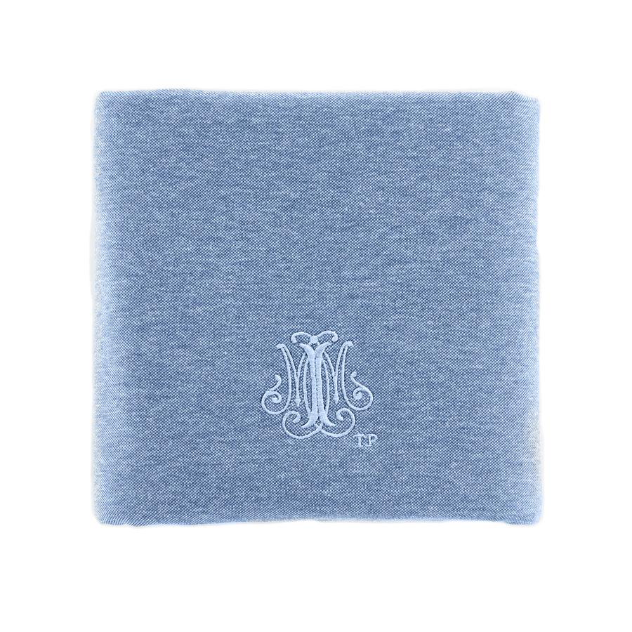 Blue Jeans Doopdeken 65x80cm - Jersey-1