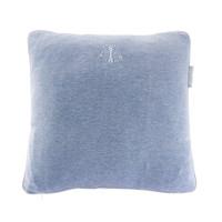 thumb-Blue Jeans Kussen geborduurd - Jersey-1