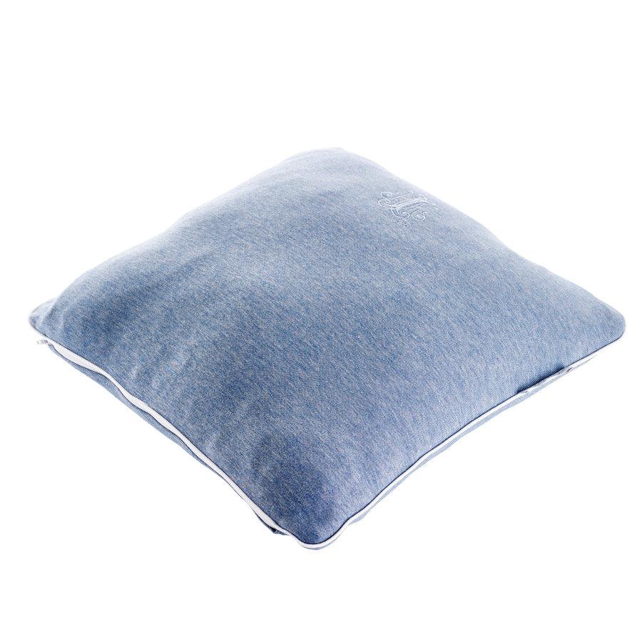 Blue Jeans Kussen geborduurd - Jersey-2