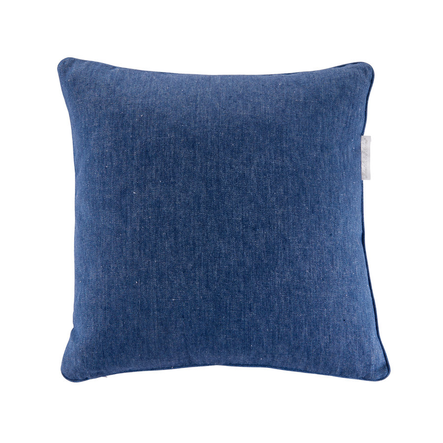Blue Jeans Kussen - Linnen DECO-1