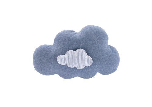 "Théophile & Patachou Blue Jeans Muziekkussen ""wolk"""