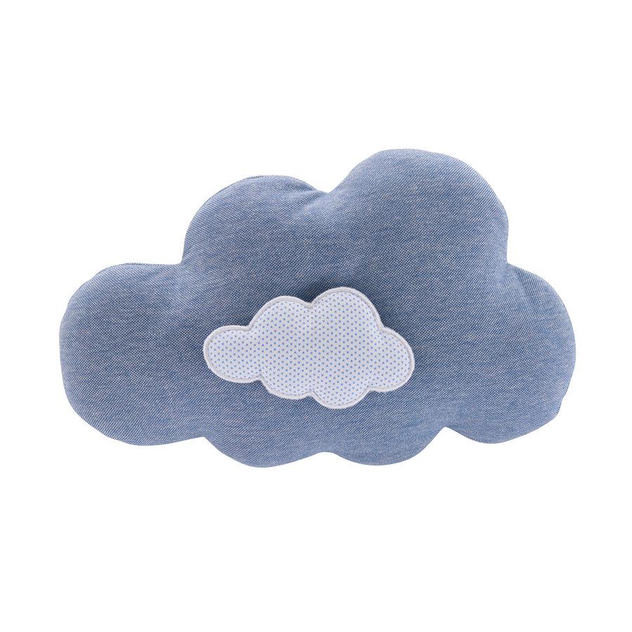 """Blue Jeans Muziekkussen """"wolk""""-1"""