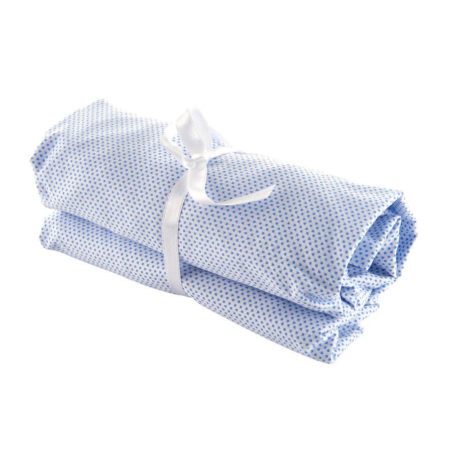 Blue Jeans Hoeslaken wieg-1