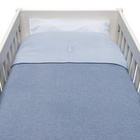 thumb-Blue Jeans Donsovertrek bed 100x135cm  + sloop-2