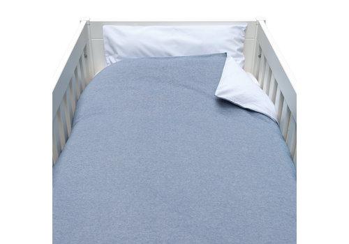 Théophile & Patachou Blue Jeans Donsovertrek bed 100x135cm  + sloop