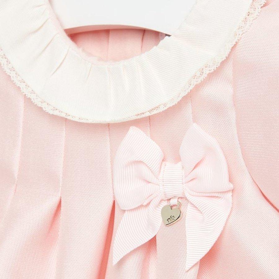 jurk met strik en kraagje-3