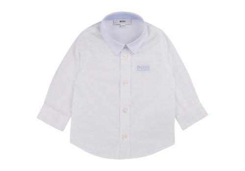 Hugo Boss overhemd met logo