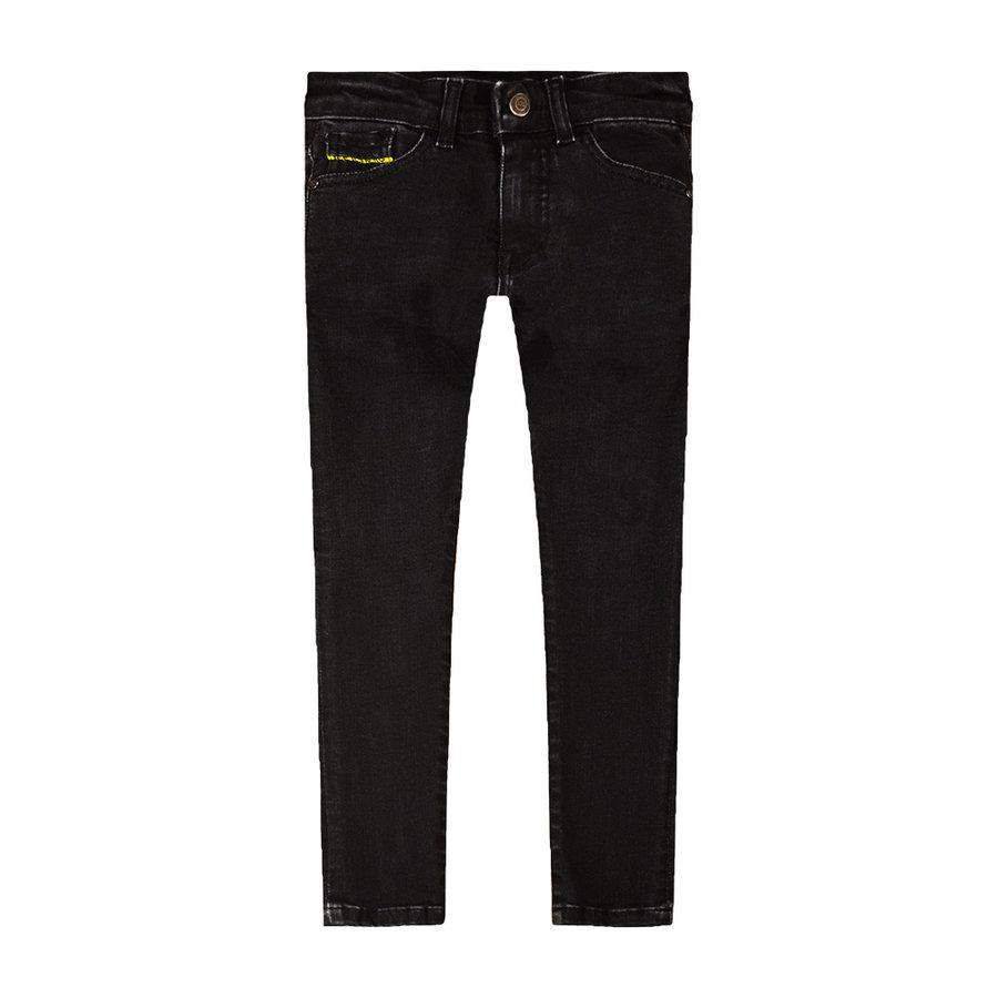 spijkerbroek - zwart-1