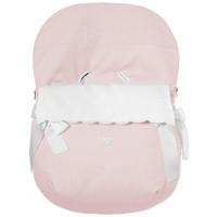 voetenzak autostoel - roze