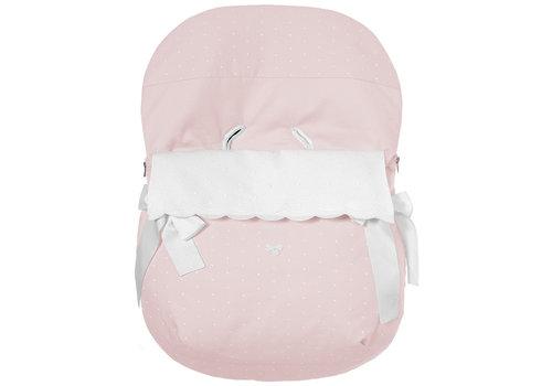 Uzturre voetenzak autostoel - roze