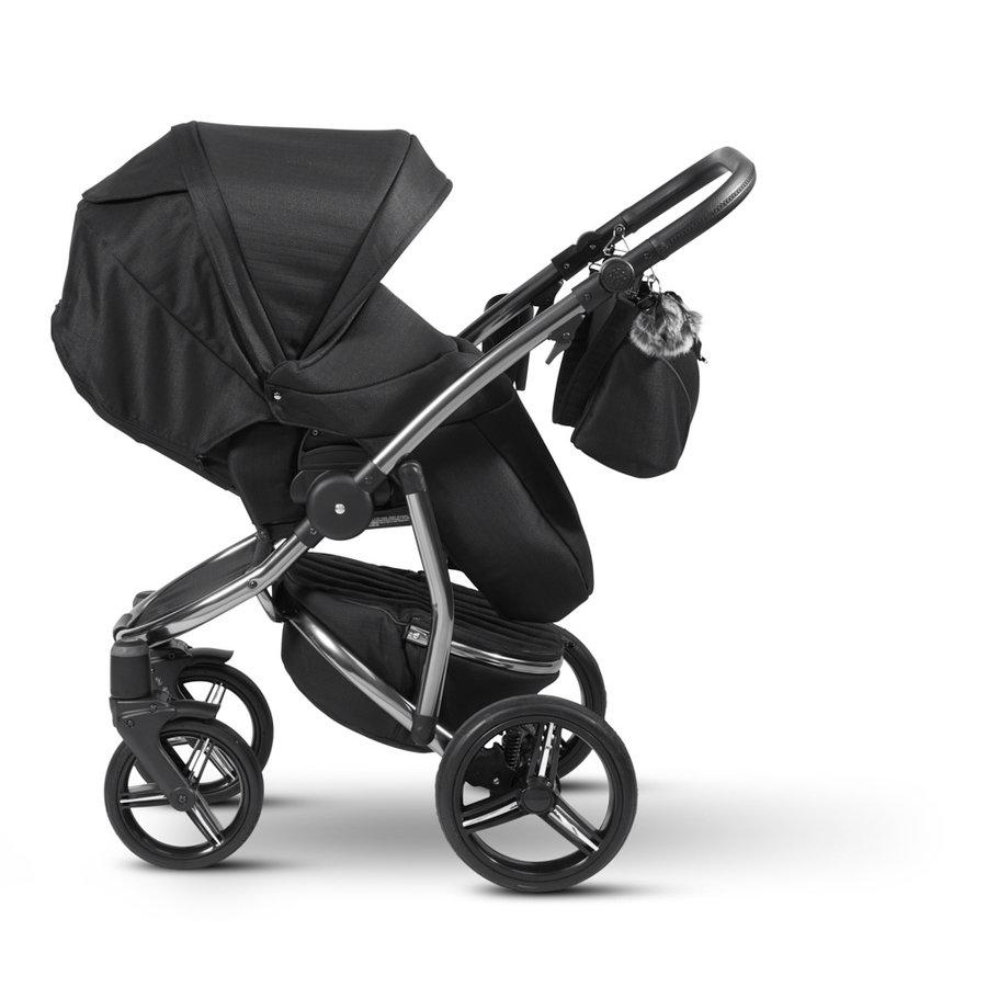 Atlanta kinderwagen - Zwart-3