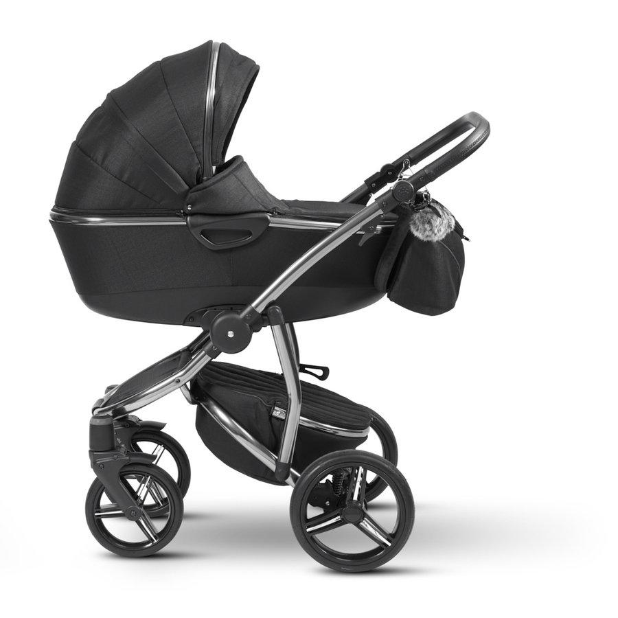 Atlanta kinderwagen - Zwart-1