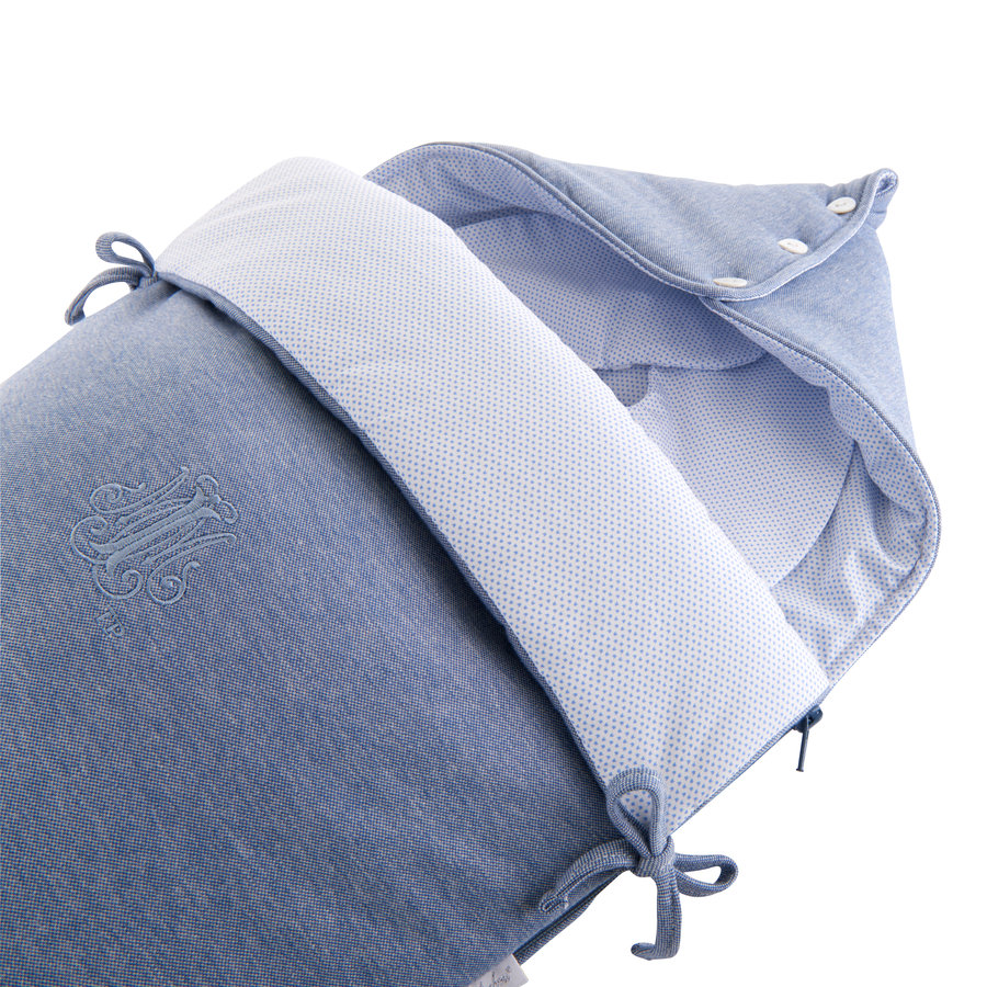 """Blue Jeans Voetenzak voor Maxi-Cosi """"Pebble+"""" - Jersey-2"""