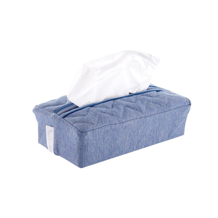 Blue Jeans Hoes voor kleenex-doos - Gewatteerd-1