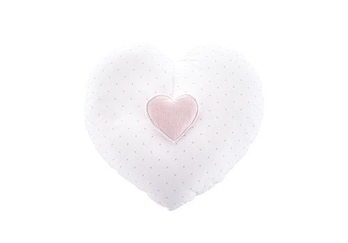"Théophile & Patachou Blush Pink Muziekkussen ""hart"""