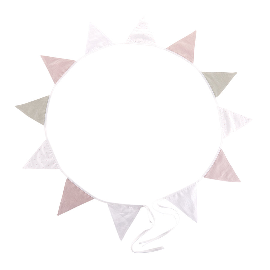 Blush Pink Vlaggenslinger Blush Pink-2