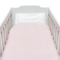 thumb-Blush Pink Donsovertrek bed 100x135cm  + sloop-3