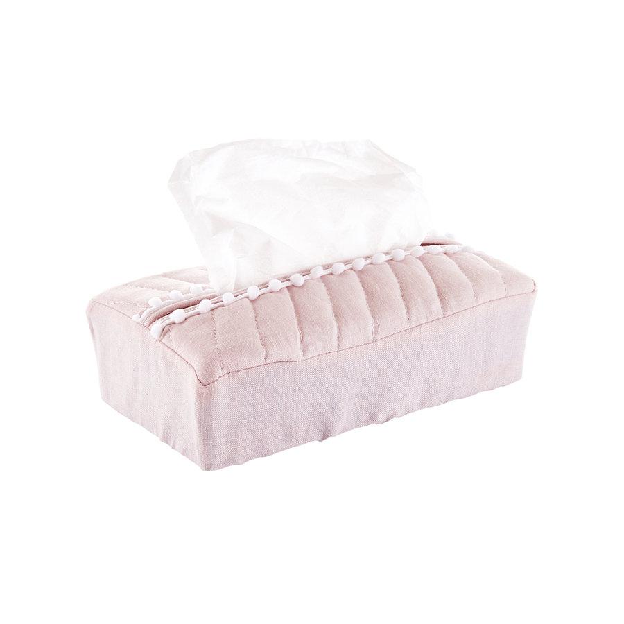 Blush Pink Hoes voor kleenex-doos - Gewatteerd-1