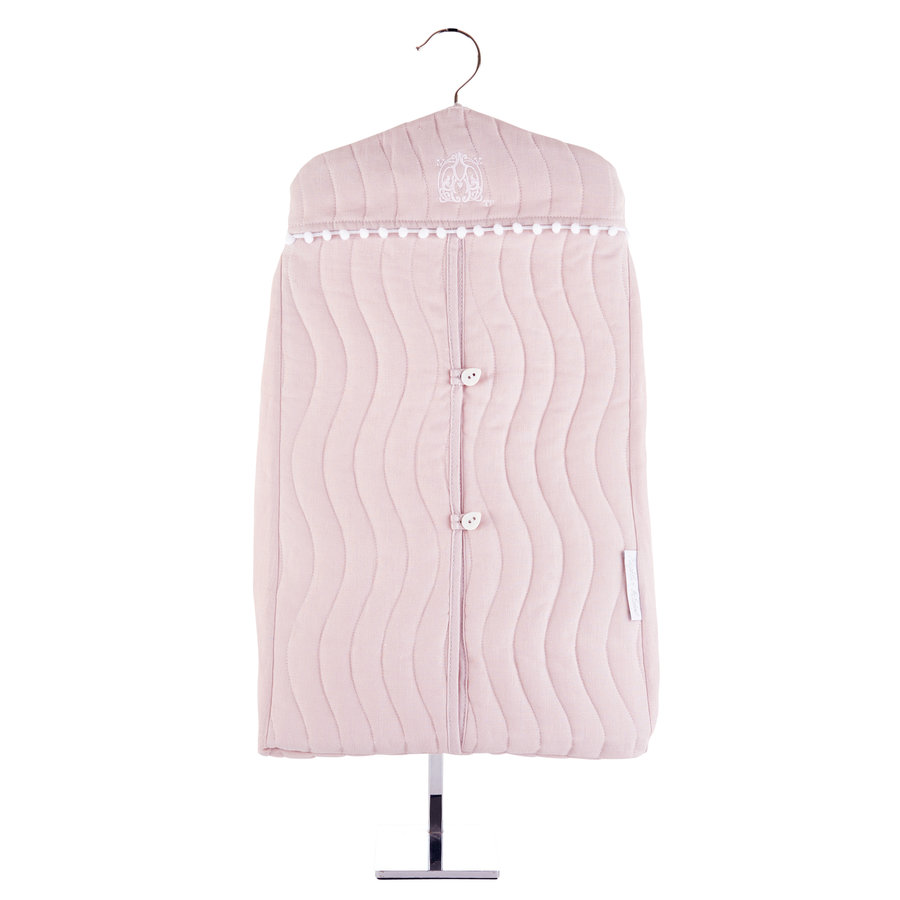 Blush Pink Luierzak model kleerhanger-3