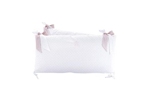 Théophile & Patachou Blush Pink Bedbeschermer 60cm - Katoen (60x60x60cm) H:32cm