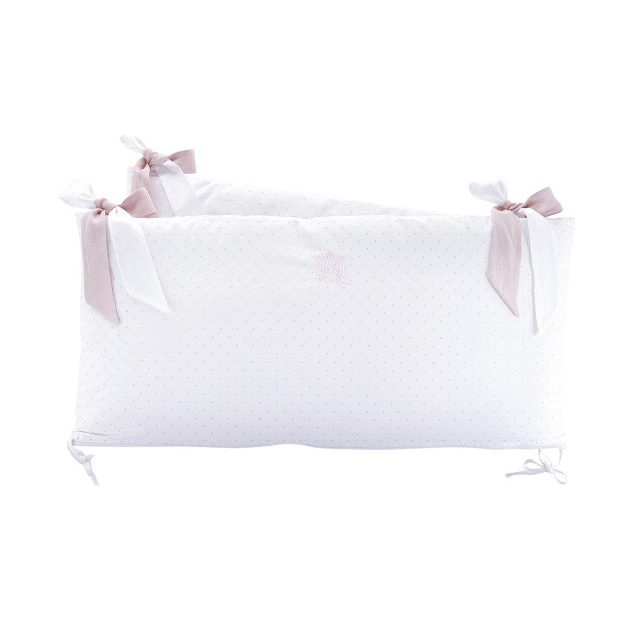 Blush Pink Bedbeschermer 60cm - Katoen (60x60x60cm) H:32cm-1