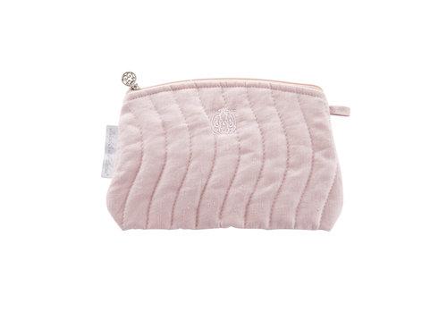 Théophile & Patachou Blush Pink Platte tas - Gewatteerd