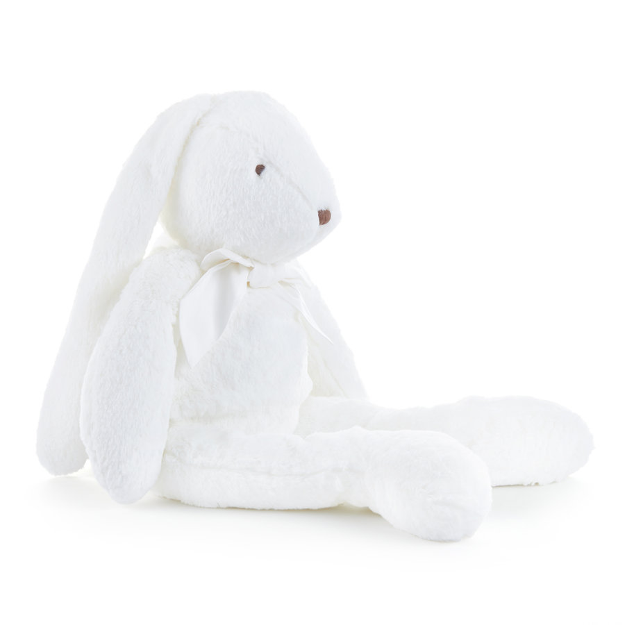Pijamazak konijn strik wit - 60cm-2