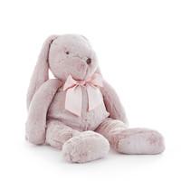 Pijamazak konijn strik roze - 60cm