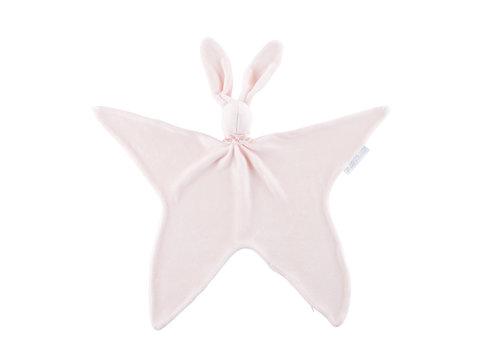 Théophile & Patachou Royal Pink Knuffeldoekje - Fluweel roze