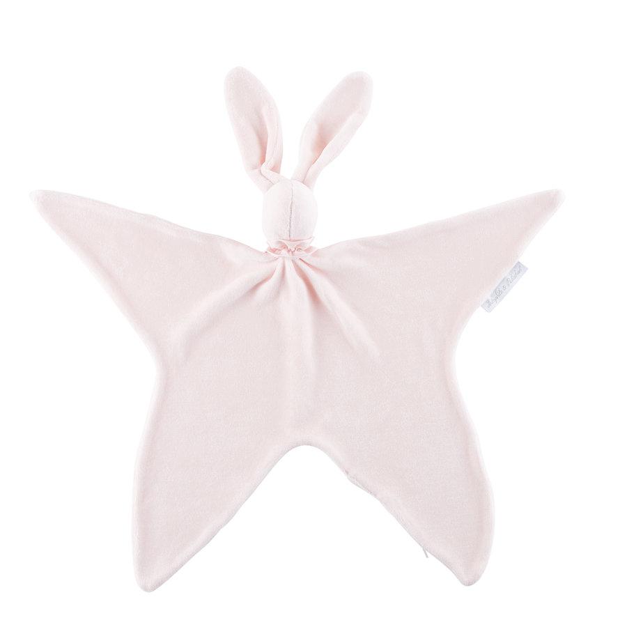 Royal Pink Knuffeldoekje - Fluweel roze-1