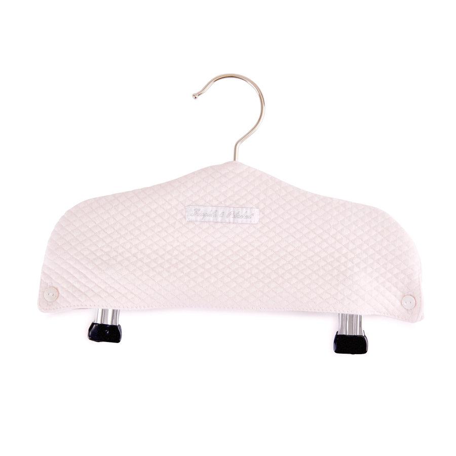 Royal Pink Kleerhanger T&P met knijpers - Gewafeld-1