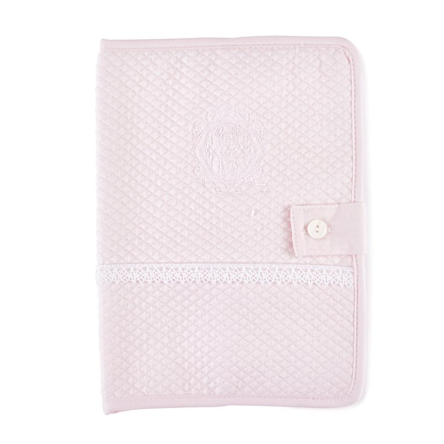 Royal Pink Hoes geboorteboekje - Gewafeld-1