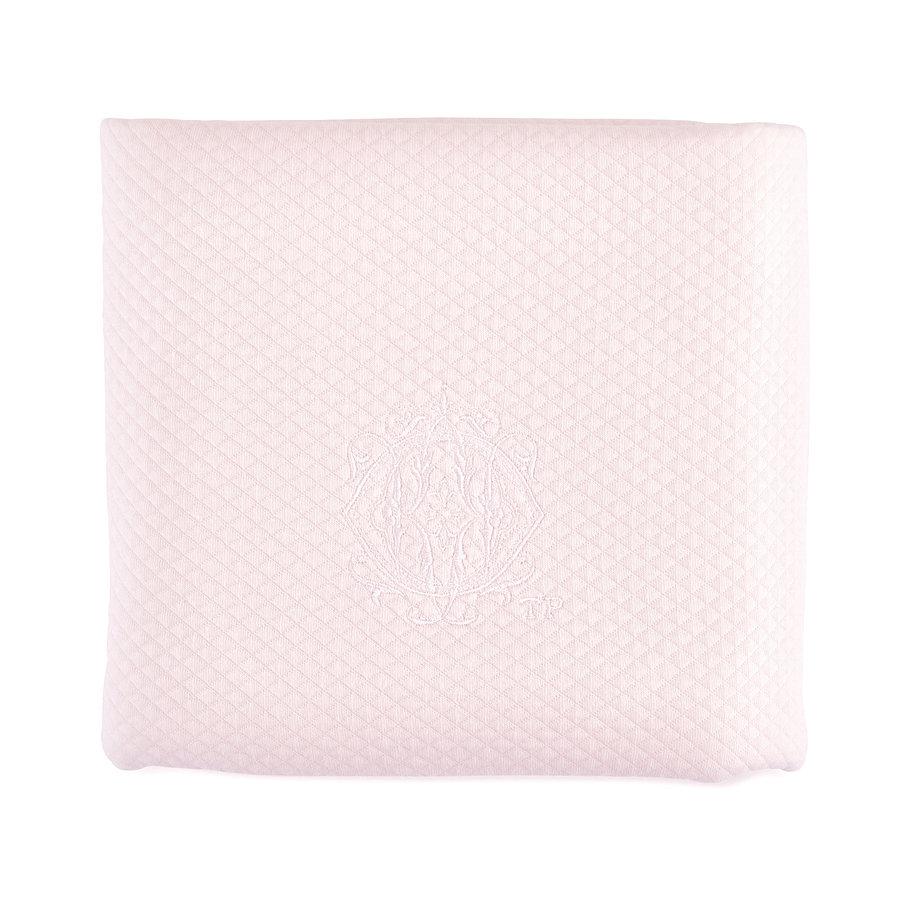 Royal Pink Doopdeken 65x80cm - Gewafeld-1