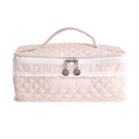 Royal Pink Toilettas met handvat - Gewatteerd popeline