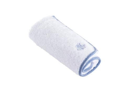 Théophile & Patachou Blue Jeans Handhoek voor verzorgingskussen - Badstof
