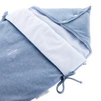 thumb-Blue Jeans Reiswieg Voetenzak - Jersey-2