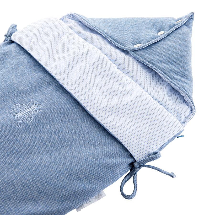 Blue Jeans Reiswieg Voetenzak - Jersey-2