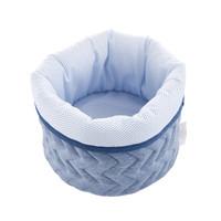 thumb-Blue Jeans Verzorgingsmand rond - Gewatteerd Jersey-2